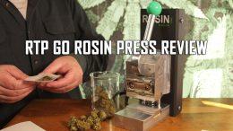RTP GO Portable Rosin Press Review Thumbnail