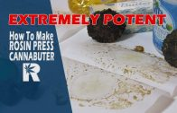 How to Make Extremely Potent Rosin Press Cannabutter