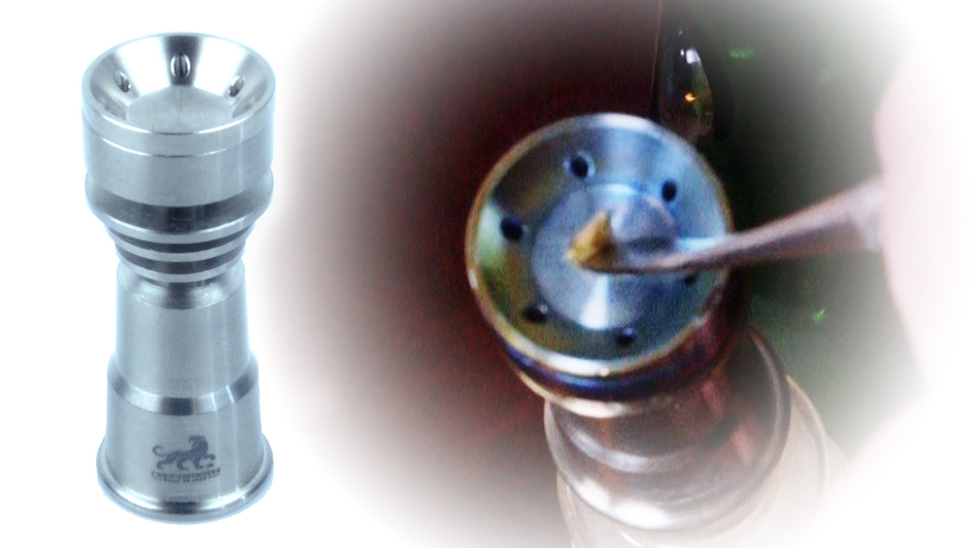 Marijuana Product Review: Sabertooth Domeless Titanium Nail 14mm ...