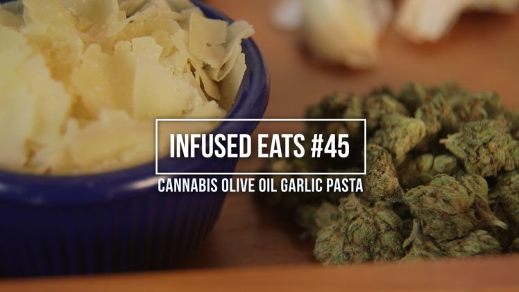 How To Make Cannabis Infused Olive Oil Garlic Pasta