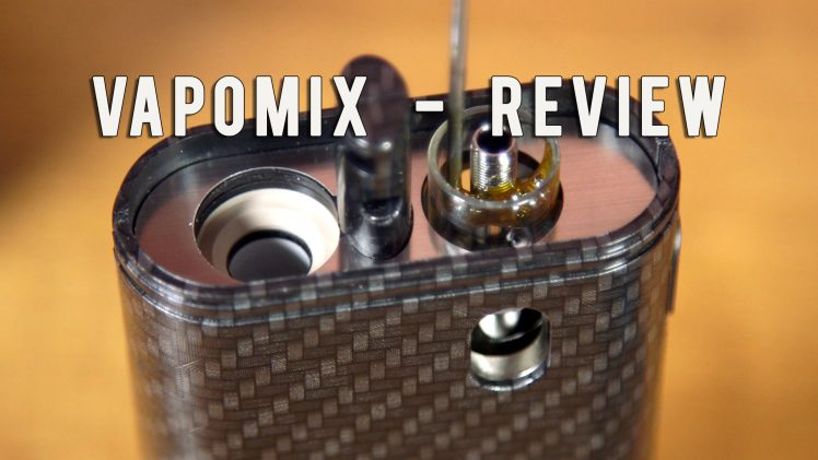 Vapomix Dual Dry Herb and eJuice Vaporizer Review