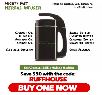 Save on the Mighty Fast Herbal Infuser with the code RUFFHOUSE