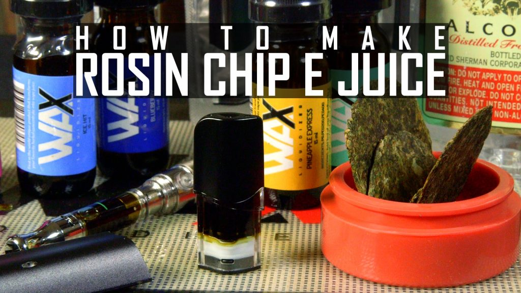 How To Make Cannabis e Juice with Rosin Chips | RuffHouse
